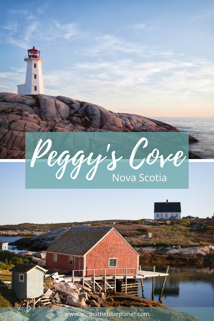 Across the Blue Planet - Peggy's Cove