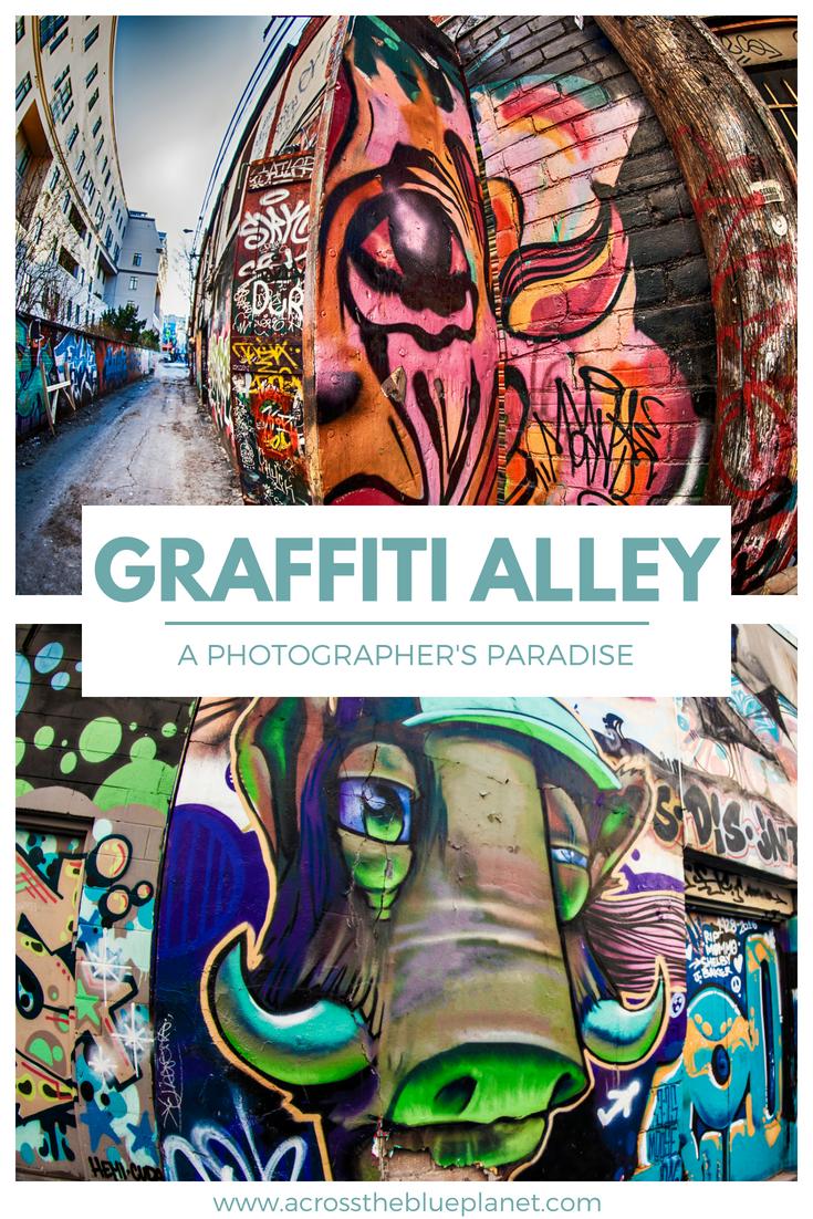 Graffiti Alley: A Photographer's Paradise