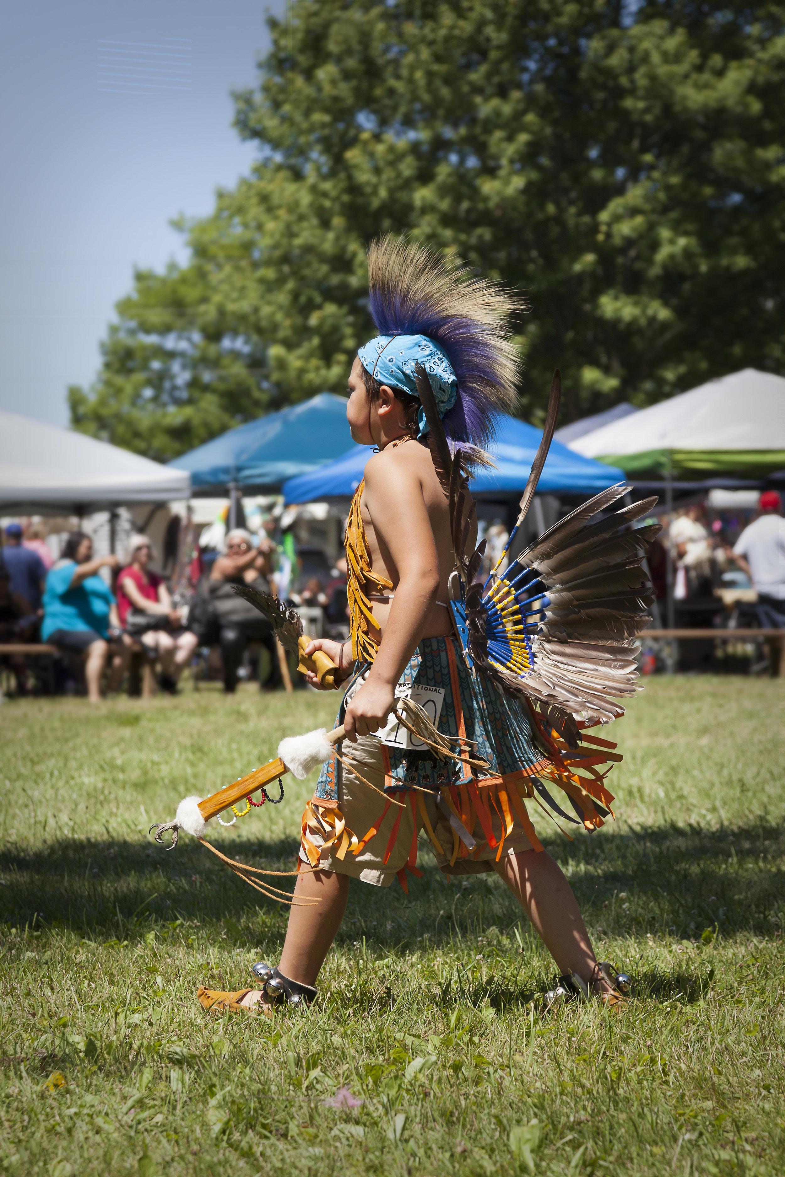 Kettle Point Powwow 2019 - across the blue planet