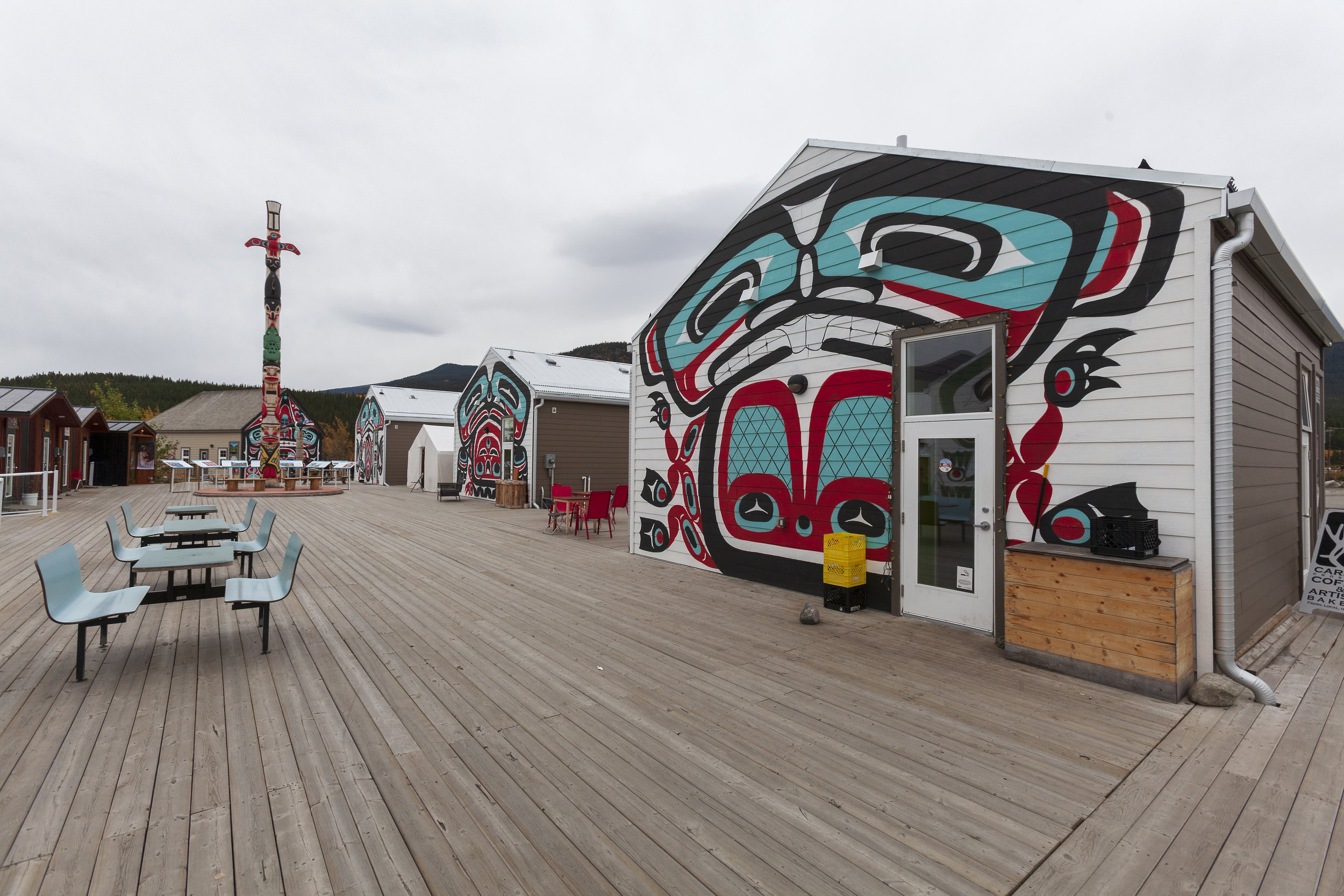 Carcross Commons - Across the Blue Planet
