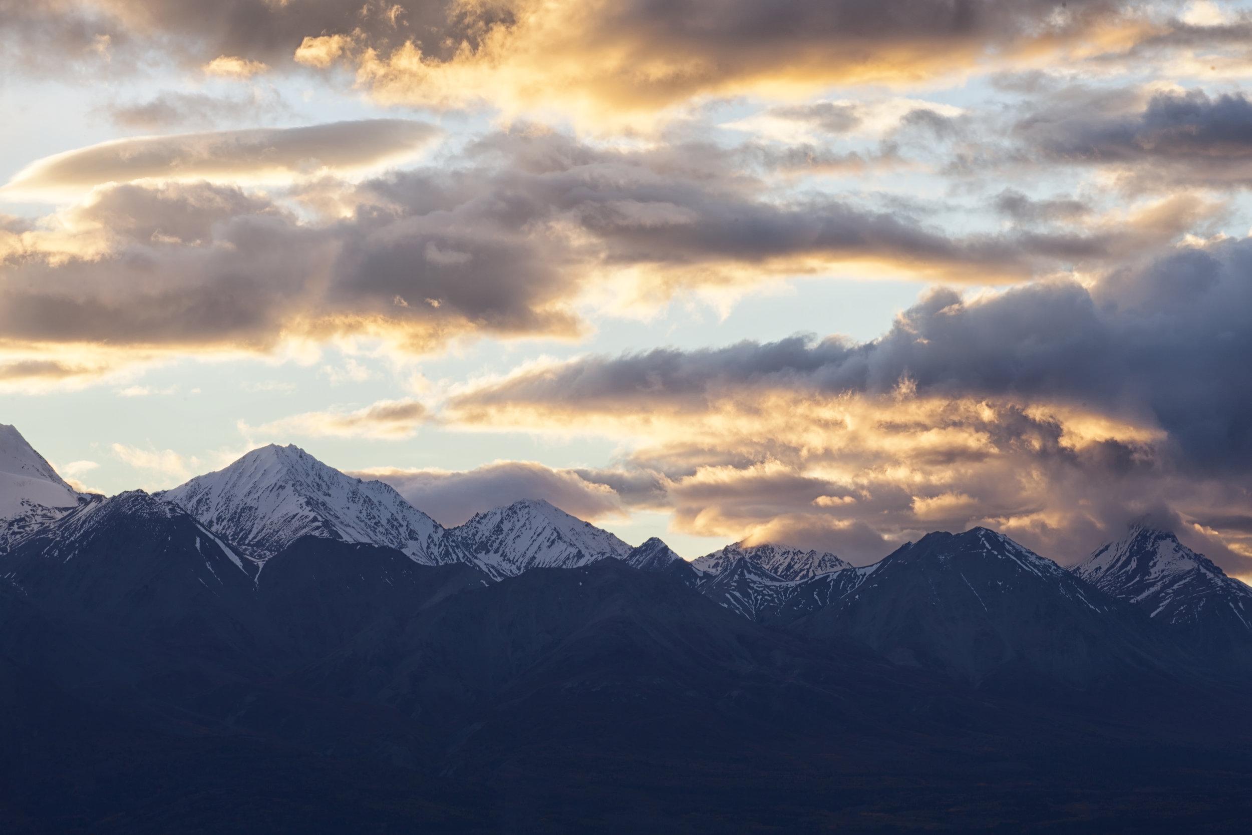 Yukon Sunset - Across the Blue Planet