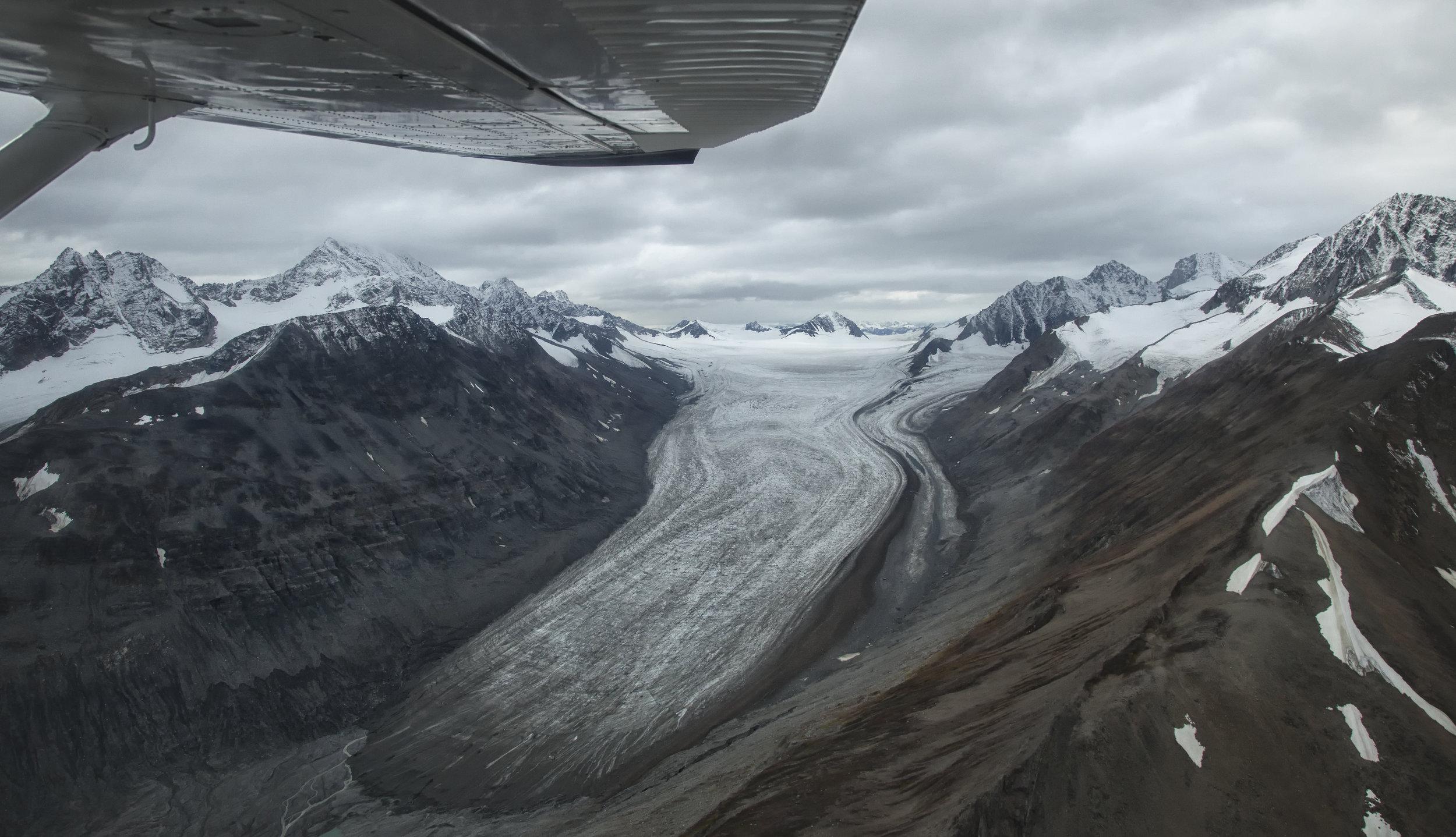 Yukon glacier - Across the Blue Planet