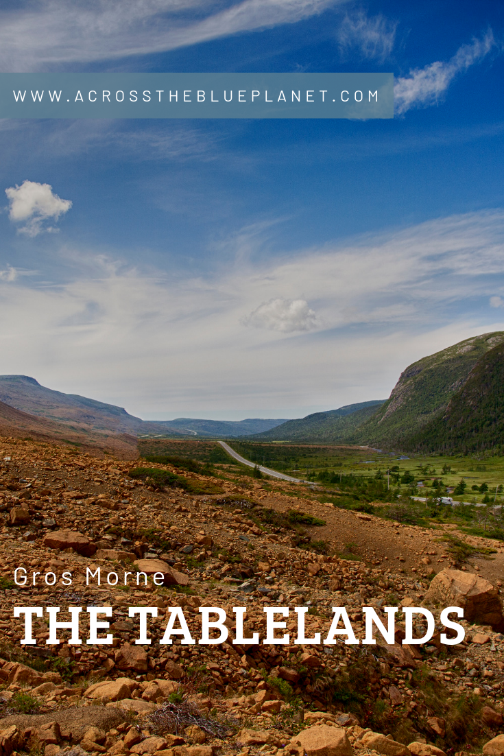 Across the Blue Planet - Hiking the Tablelands