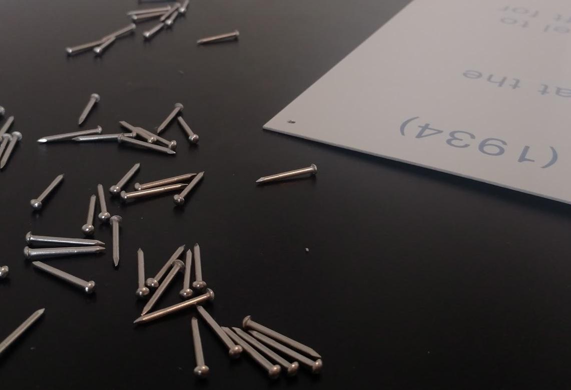 Custom Aluminum Label & Hardware