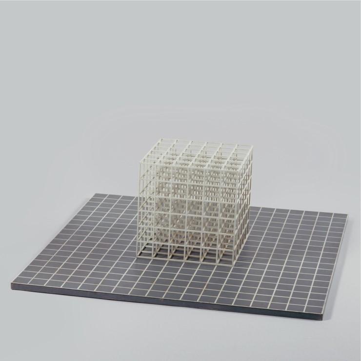 Sol-LeWitt-Modular-CubeBase-1967-Baked-enamel-on-steel-43-x-128-x-128-cm.jpeg