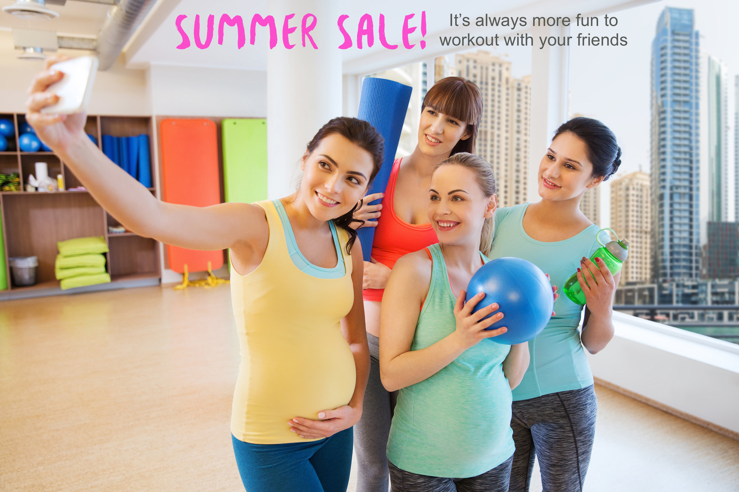 5MinuteBack Pregnancy Summer Sale - Refer a friend and get 1 month free.
