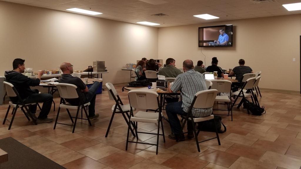 LHBC Members attending  Secret Church  Livestream with David Platt