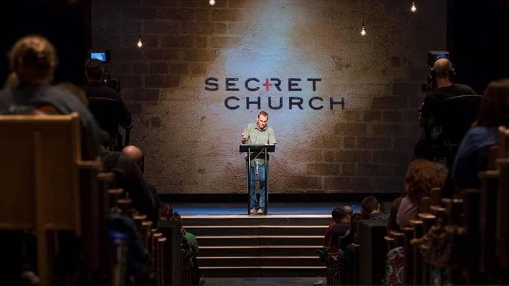 Secret Church - Registration deadline: April 1