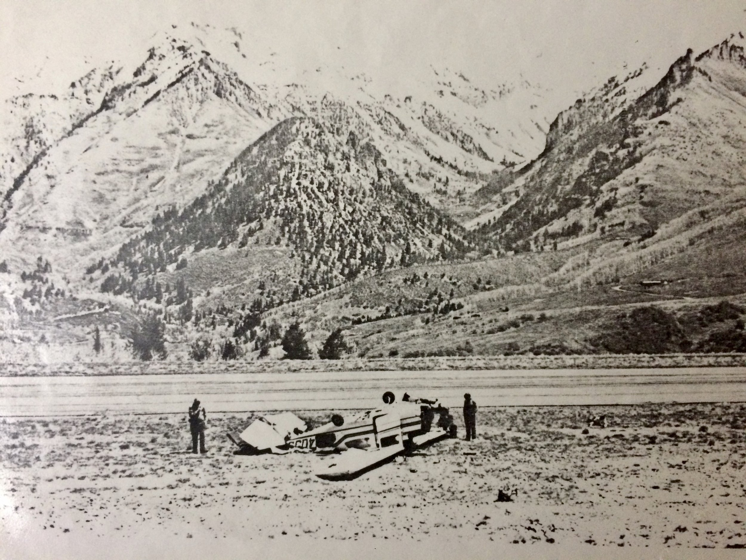 TELLURIDE, CO 05/19/1990, 1600 MDT CESSNA 210L   Accident Number: Registration: Aircraft Damage:    Injuries:   DEN90FA109  N2403S  Substantial  3 Serious, 1 Minor, 2 None  Part 91: General Aviation - Business  AFTER HAVING DISCUSSED THE LOCAL ADVERSE WIND CONDITIONS NEAR THE DEPARTURE END OF THE RUNWAY WITH AIRPORT OPERATION PERSONNEL, THE PRIVATE PILOT ELECTED TO ATTEMPT THE FLIGHT. HE SAID THAT DURING HIS TAKEOFF CLIMB HE UNEXPECTEDLY ENCOUNTERED A VERY STRONG DOWNDRAFT. IN AN ATTEMPT TO MAINTAIN ALTITUDE, THE AIRCRAFT STALLED AND COLLIDED WITH THE GROUND. DESPITE WARNING FROM AIRCRAFT PERSONNEL, THE PILOT STATED BEFORE THE FLIGHT THAT HE SHOULD ATTEMPT TO CLIMB OVER ADVERSE WINDS RATHER THAN MAINTAIN ADDITIONAL AIRSPEED. THE AIRPLANE WAS VERY NEAR MAXIMUM GROSS WEIGHT AND THE PILOT USED 20 DEGREES OF FLAPS, INSTEAD OF THE RECOMMENDED 10. THE PILOT WAS AWARE OF A BOOKLET AT THE AIRPORT WARNING OF HAZARDOUS WIND CONDITIONS, ESPECIALLY WHEN WINDS WERE SOUTHERLY IN EXCESS OF 10 M.P.H. DENSITY ALTITUDE WAS 10,760 FEET.   Probable Cause and Findings    The National Transportation Safety Board determines the probable cause(s) of this accident to be: THE PILOT'S FAILURE TO MAINTAIN FLYING SPEED WHICH RESULTED IN A STALL. FACTOR WAS WIND SHEAR REPORTED OFF DEPARTURE END OF RWY.