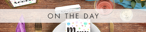 Rainbow Drops On The Day - colourful watercolour painted polka dot wedding wedding stationery suite uk - Hawthorne and Ivory