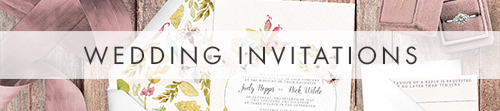Shabby Chic Floral Invitation - watercolour flowers rose wedding wedding stationery suite uk - Hawthorne and Ivory