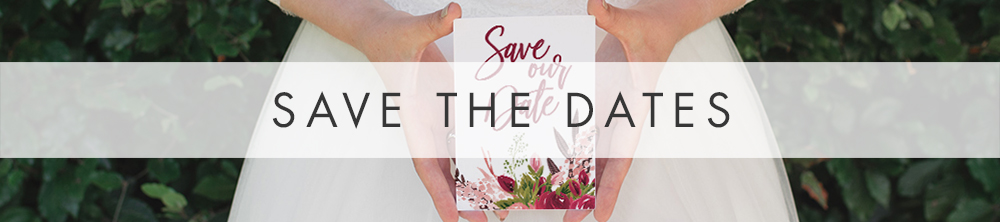 Rustic Rose Save The Date - red pink roses watercolour wedding wedding stationery suite uk - Hawthorne and Ivory
