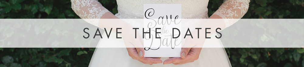 Simple Kraft Save The Date - rustic simple botanical floral wedding wedding stationery suite uk - Hawthorne and Ivory