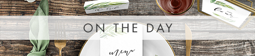 Olive Branch On The Day - greenery watercolour leaf greek wedding wedding stationery suite uk - Hawthorne and Ivory