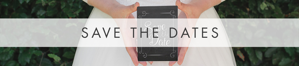 Chalkboard Save The Date - slate grey rustic wedding stationery suite UK - Hawthorne and Ivory