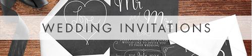 Chalkboard Invitation Suite - slate grey rustic wedding stationery suite UK - Hawthorne and Ivory