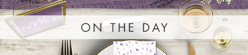 Lavender Petals On The Day - watercolour floral wedding stationery suite UK - Hawthorne and Ivory