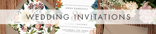 Floribunda Invitations - vintage floral wedding stationery suite uk