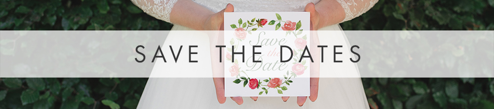 Rose Bush Save The Date - peach pink roses watercolour wedding wedding stationery suite uk - Hawthorne and Ivory