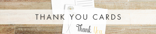Yellow Daisy Thank You Cards - lemon floral simple modern wedding stationery suite uk - Hawthorne and Ivory