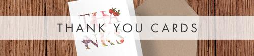 Floribunda Thank You Cards - vintage floral wedding stationery suite uk - Hawthorne and Ivory