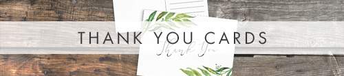 Olive Branch Thank You Cards - greenery watercolour leaf greek wedding wedding stationery suite uk - Hawthorne and Ivory