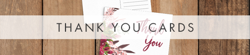 Rustic Rose Thank You Cards - red pink roses watercolour wedding wedding stationery suite uk - Hawthorne and Ivory