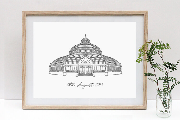 Wedding Venue Illustration  from £75