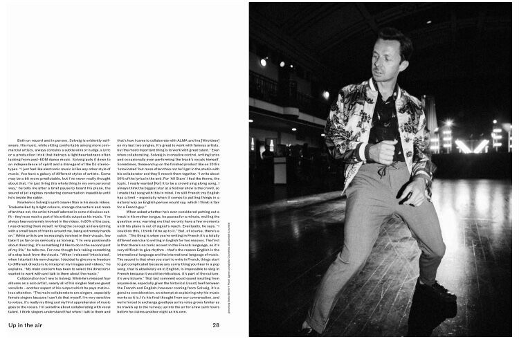Martin Solveig - Notion Magazine October Issue