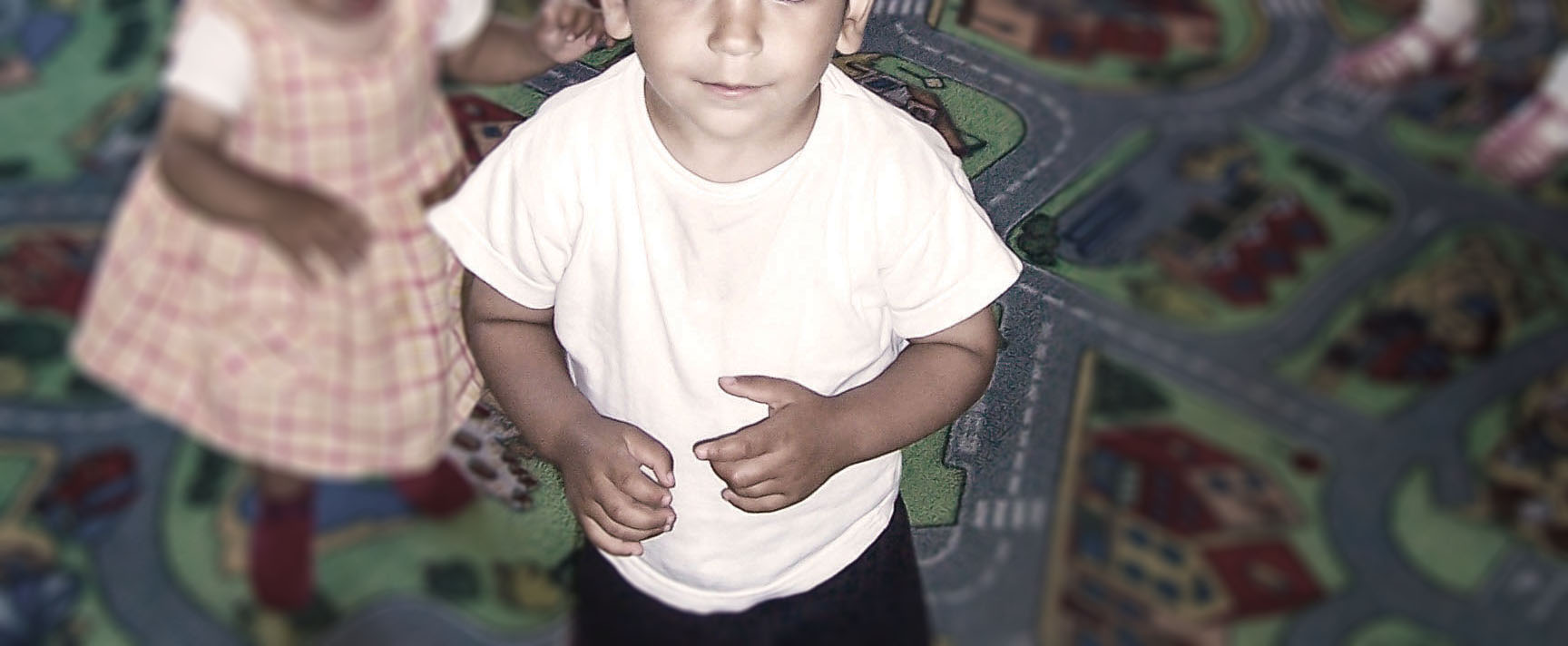 THEN:  Drew at our orphanage in the early 2000s