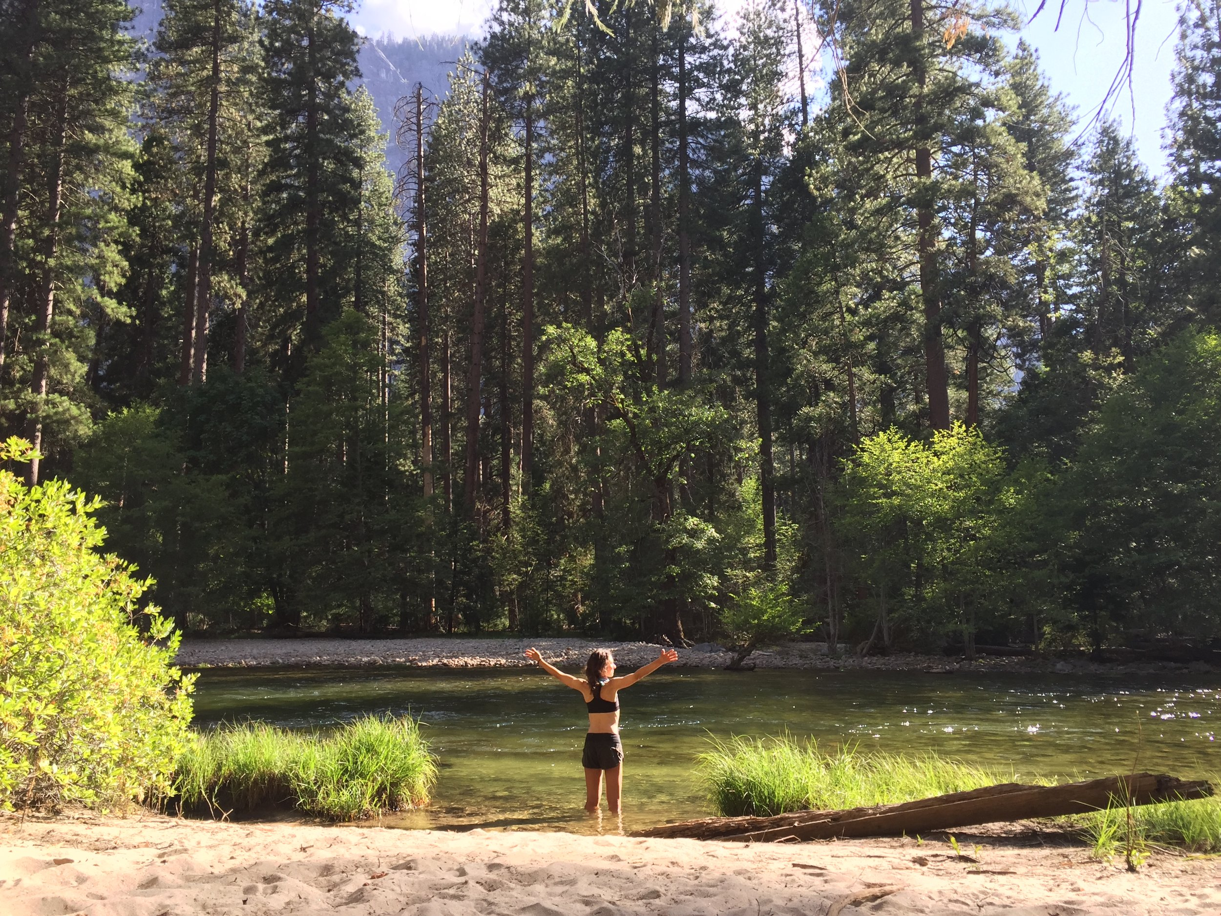 Me at the Merced River