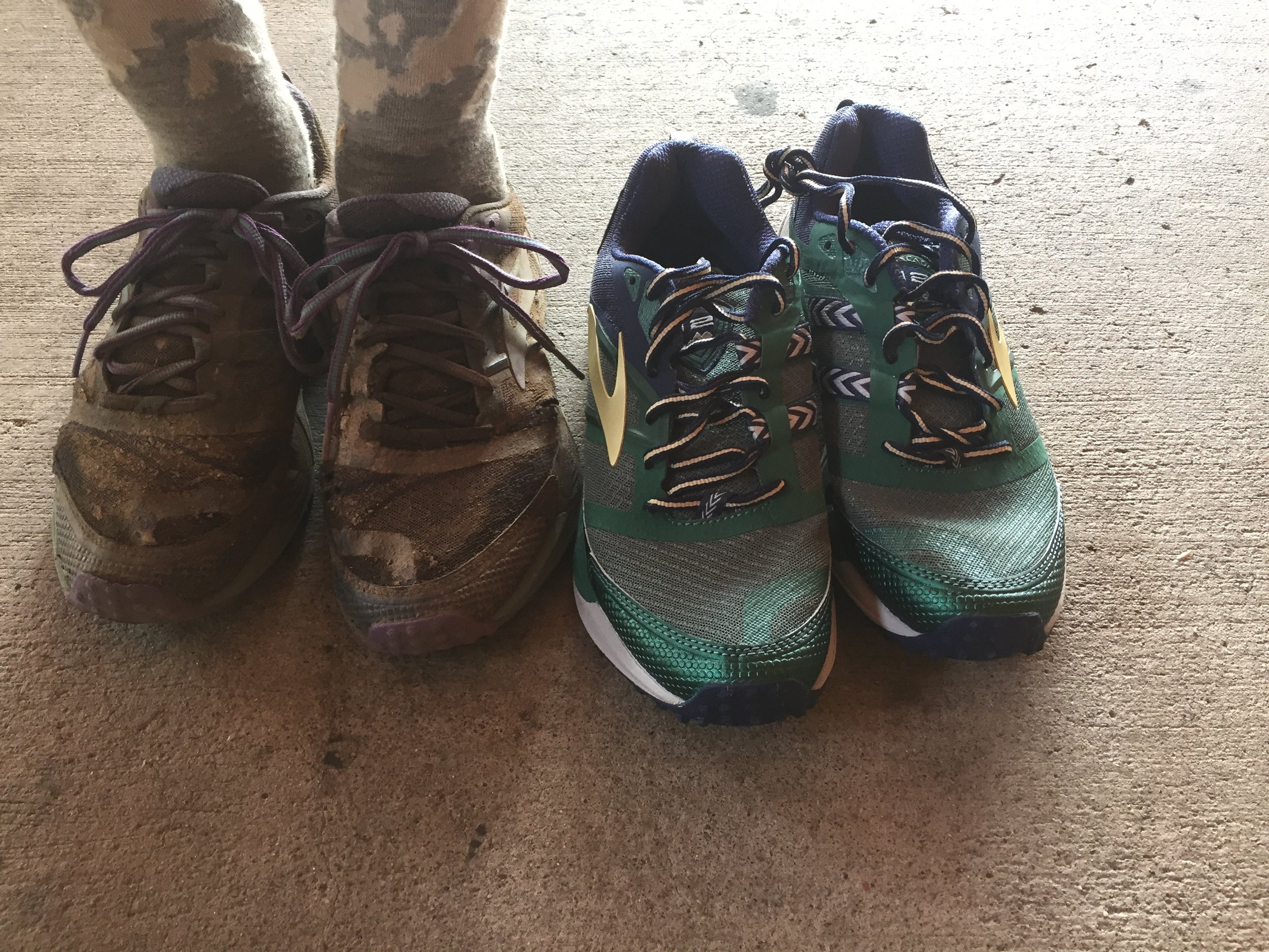 Can you guess which ones are the old pair?