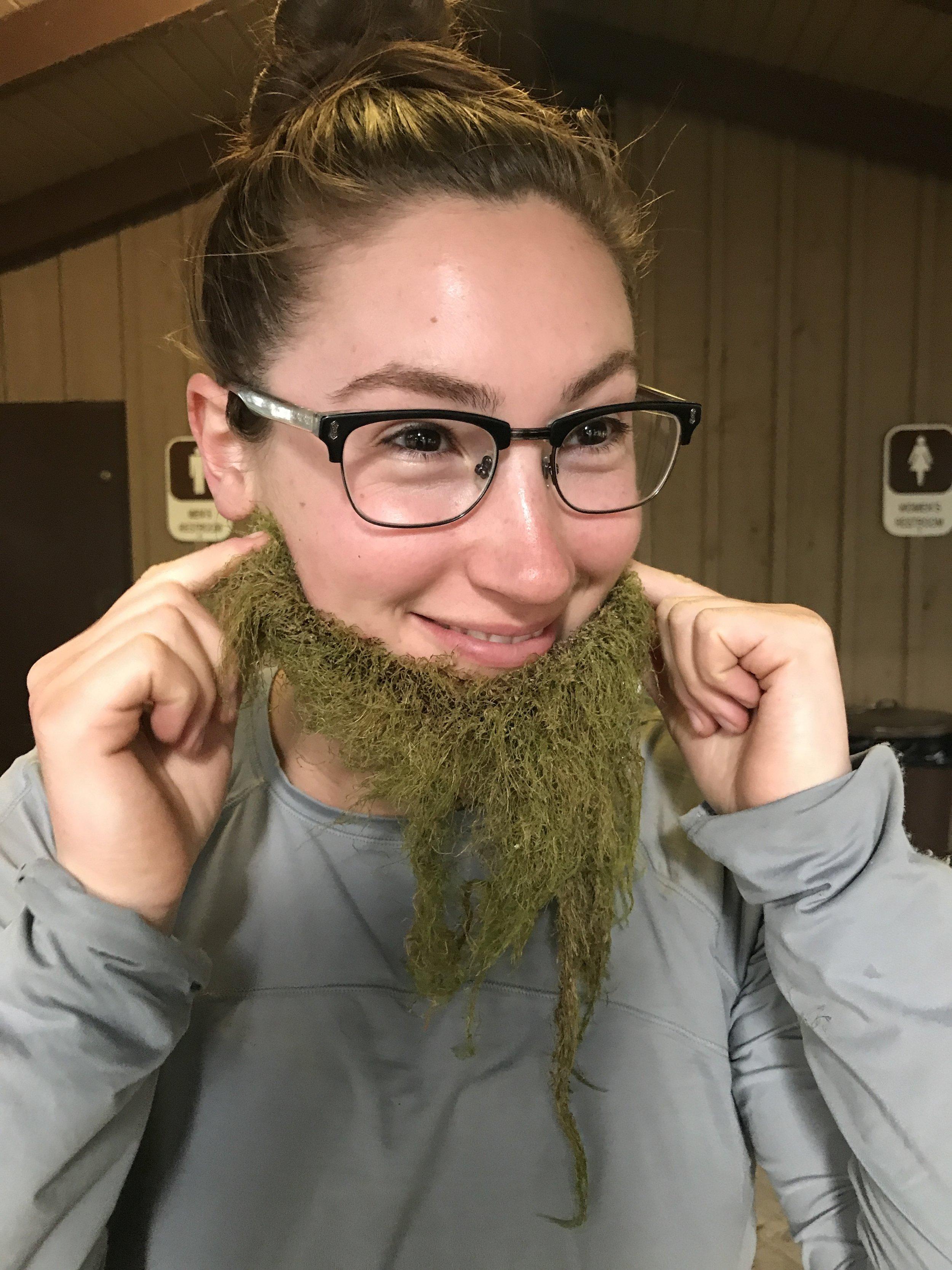 Jedi in a lichen beard