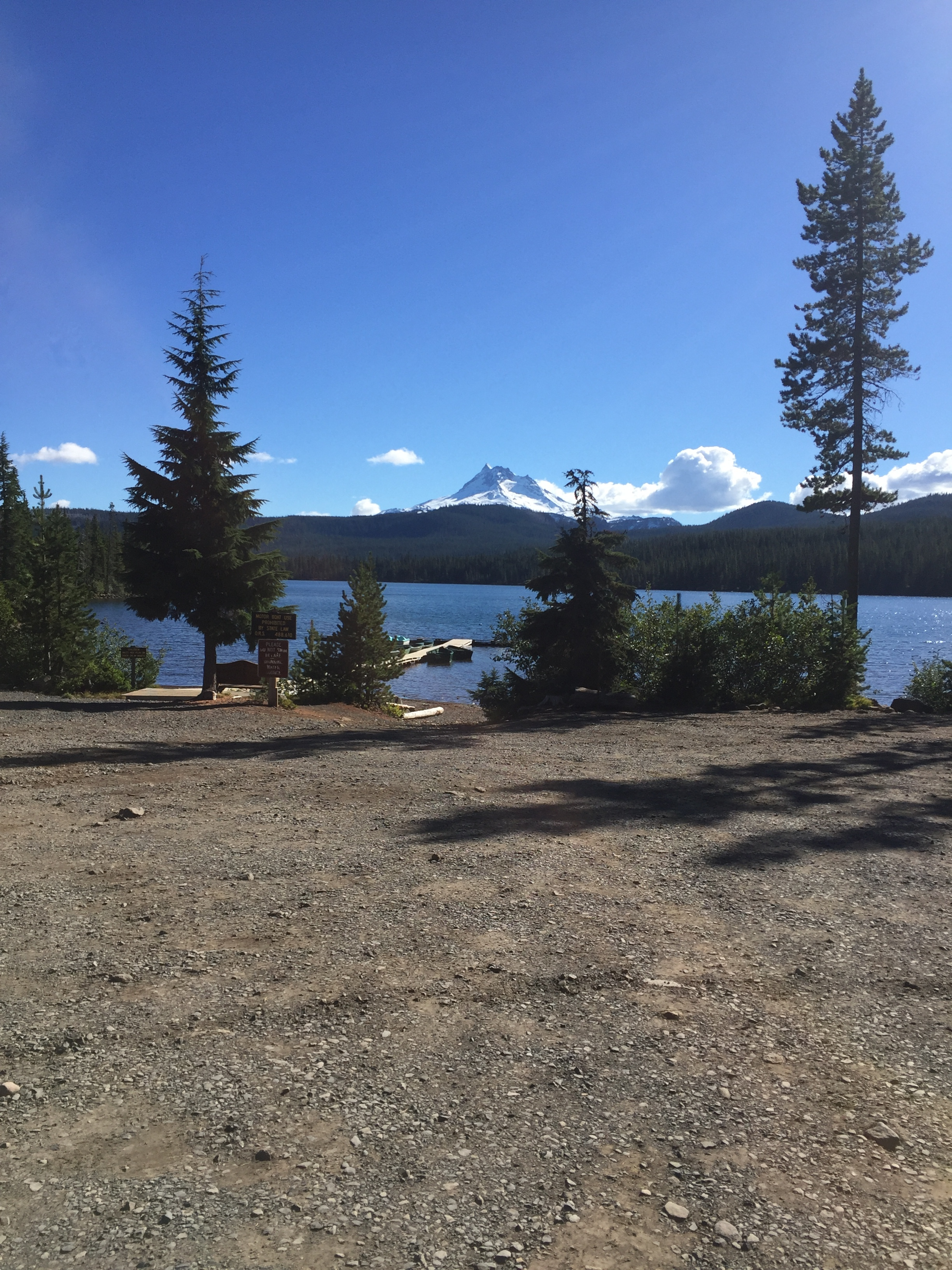 Olallie Lake and Mt. Jefferson