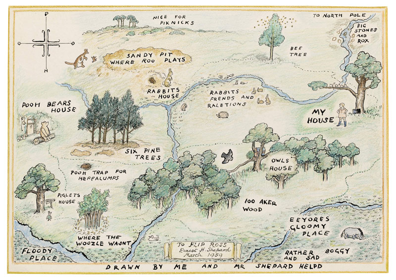The best map in  any  book.