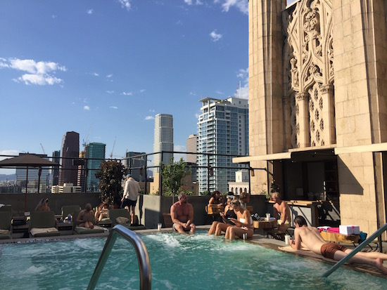 Poolside at The Ace Hotel