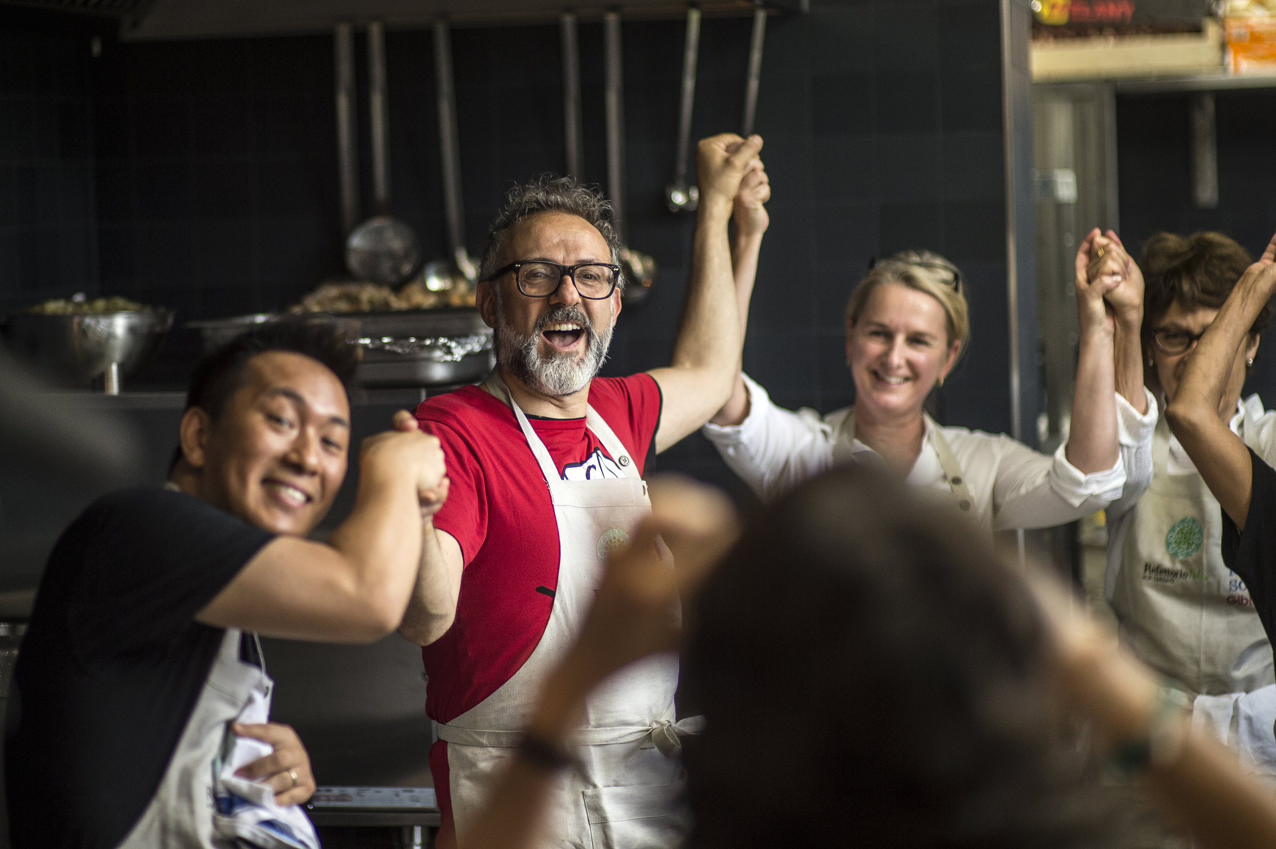 Massimo Bottura. Photo by Simon Owen / Red Photographic.