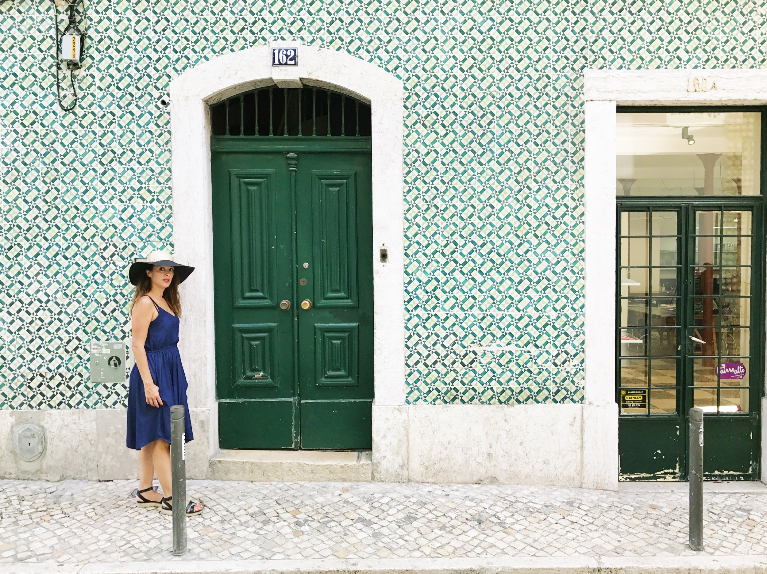 Requisite, shameless Lisbon self-portrait.