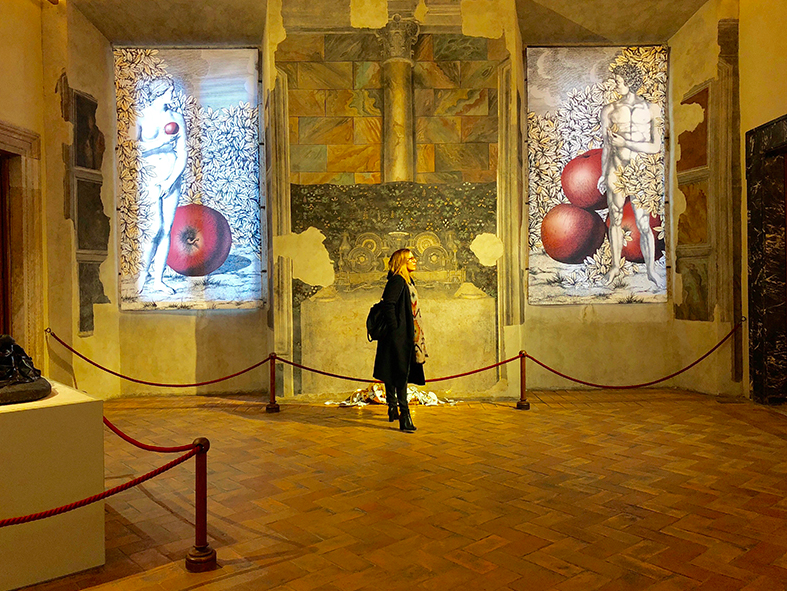 Fornasetti At Palazzo Altemps. Credit: Palazzo Altemps