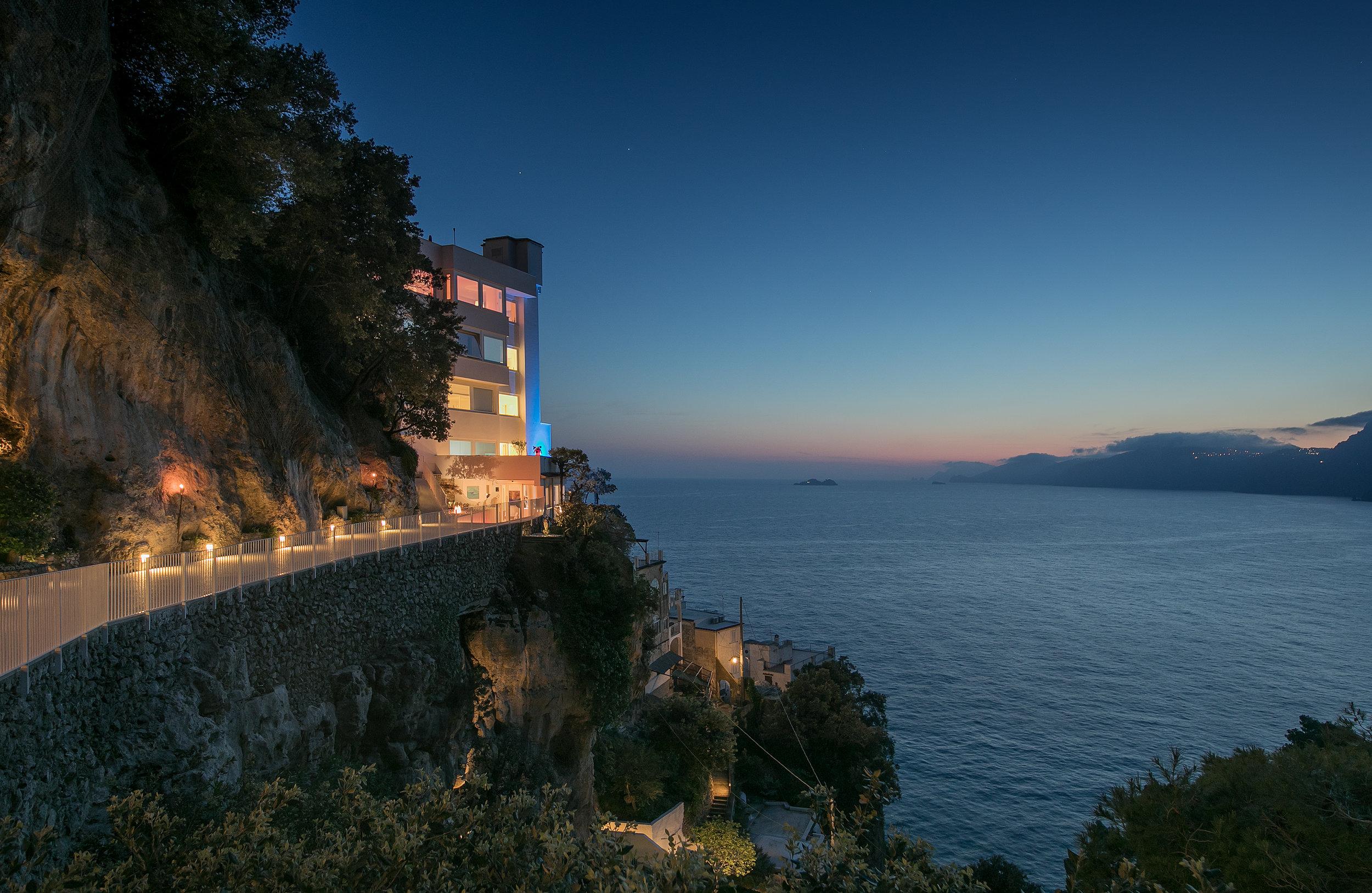 Hotel Exterior – Evening – Casa Angelina .jpg