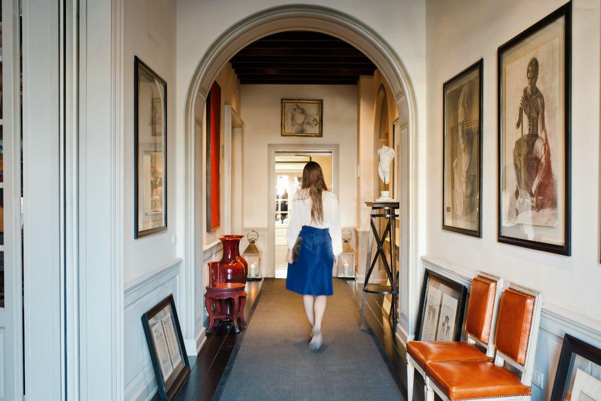 A Florentine-worthy entrance.
