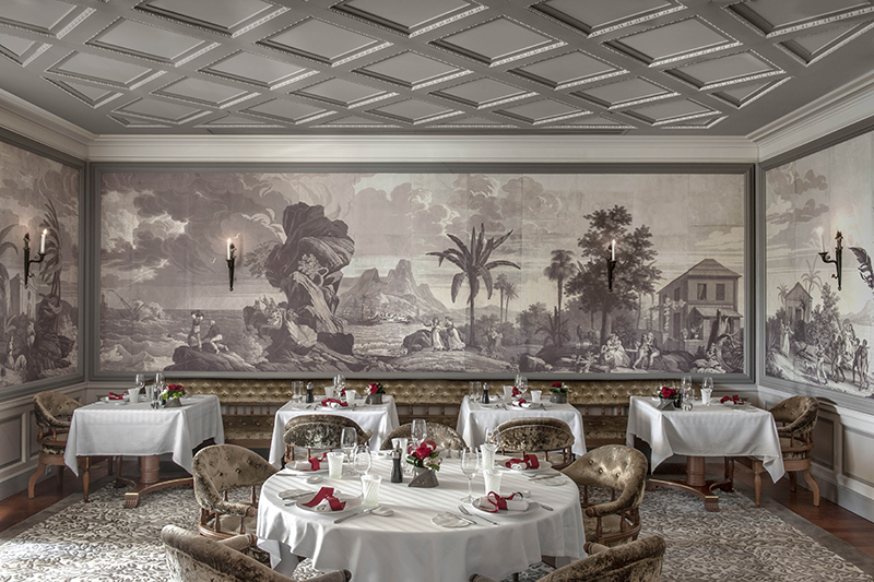 Joël Robuchon.Credit: Hotel Metropole Monte Carlo