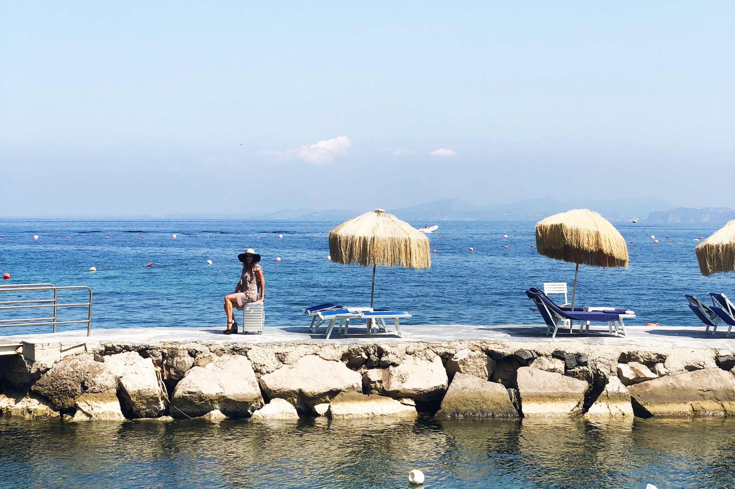 Carried away in Ischia.