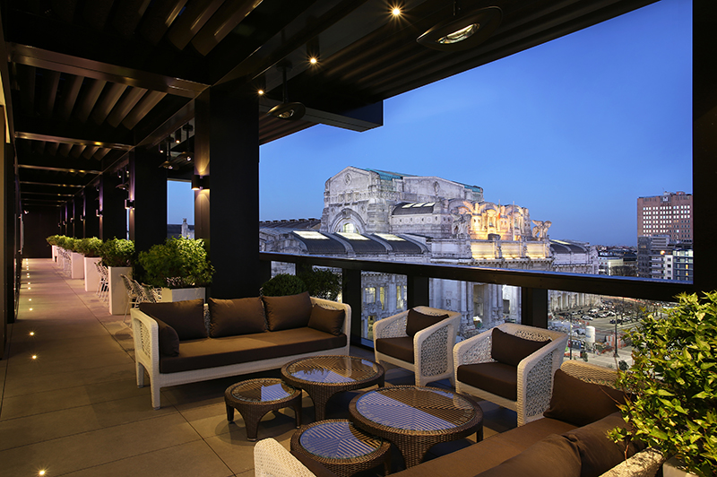 Terrazza Gallia.  Credit: Excelsior Hotel Gallia, A Luxury Collection Hotel