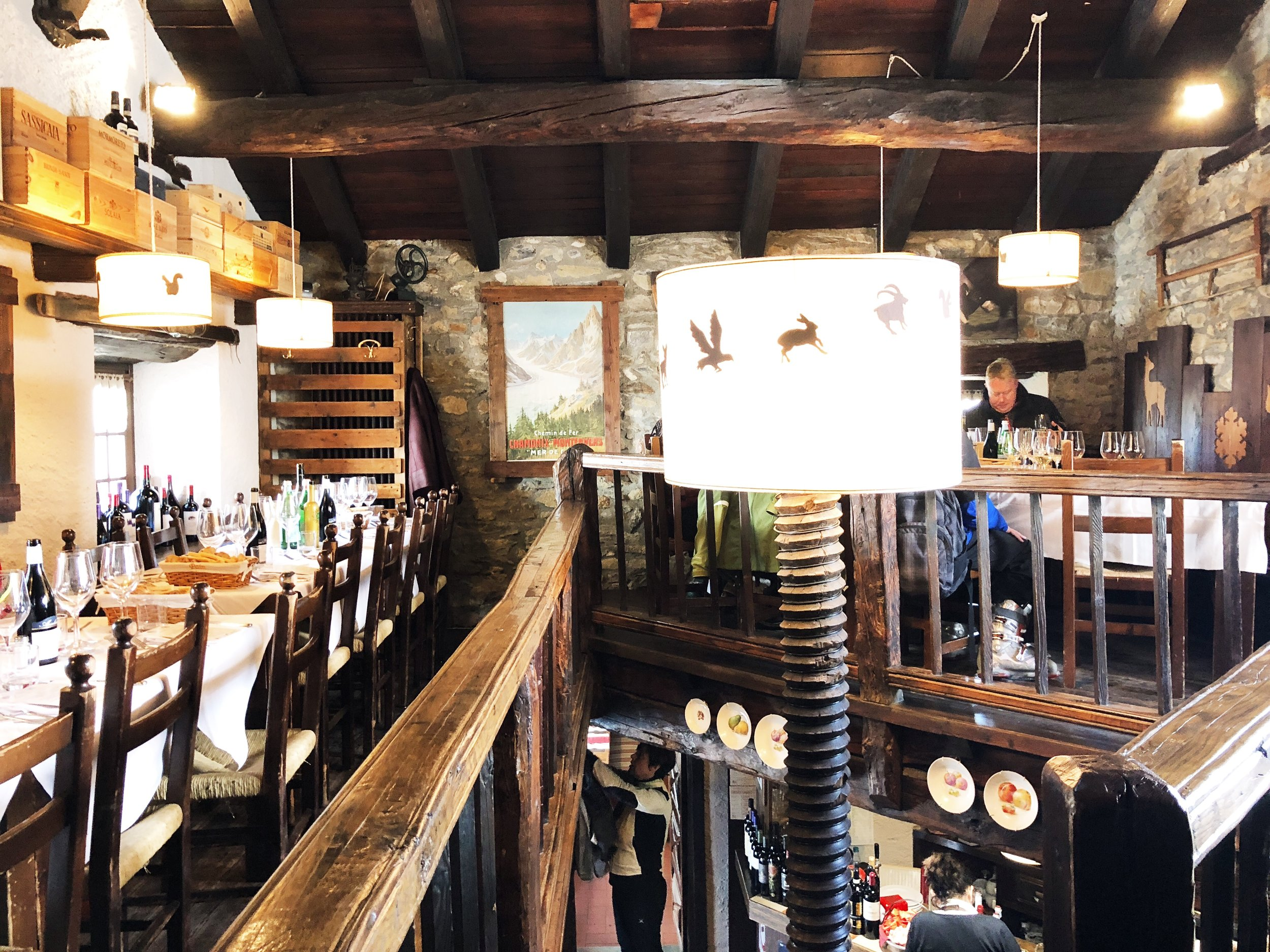 Inside Chateau Branlat