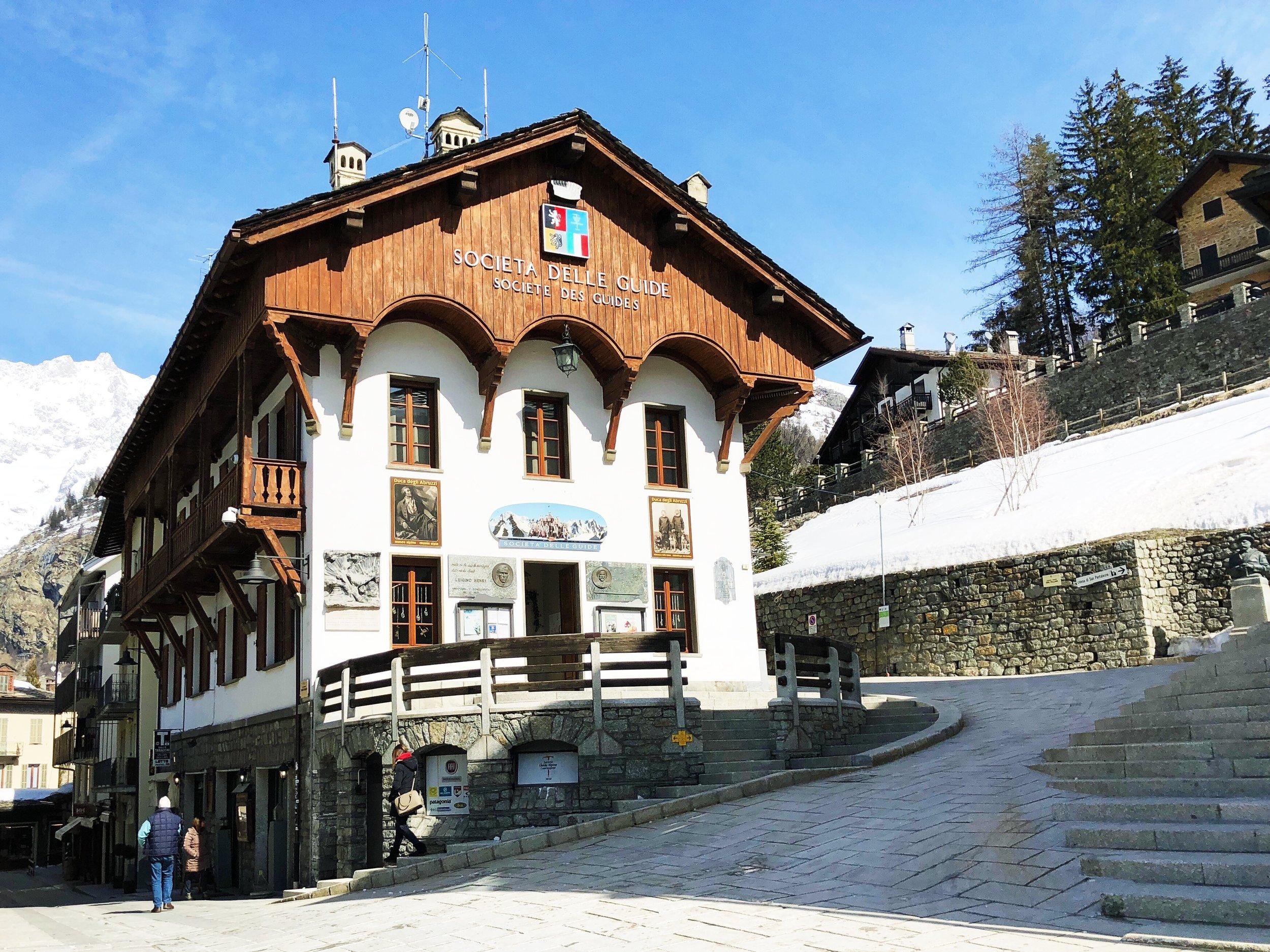 Museo Alpino Duca degli Abruzzi.
