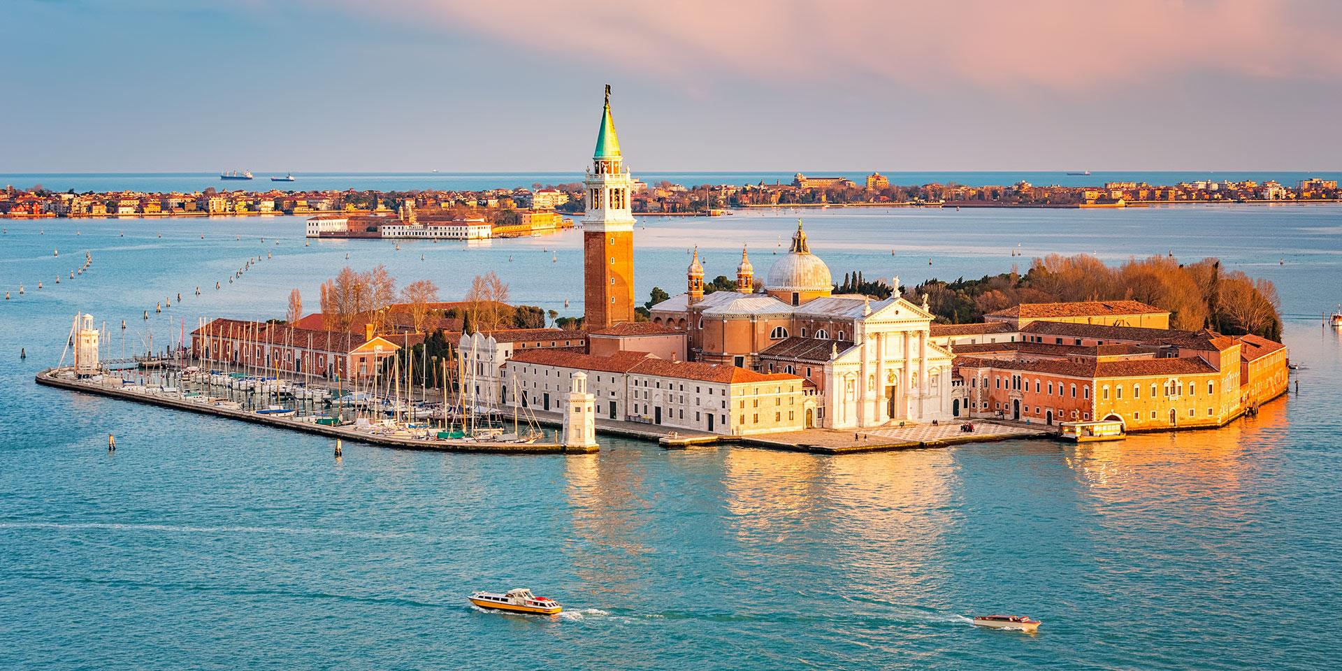 The Island of San Giorgio. Photo: Getty Images