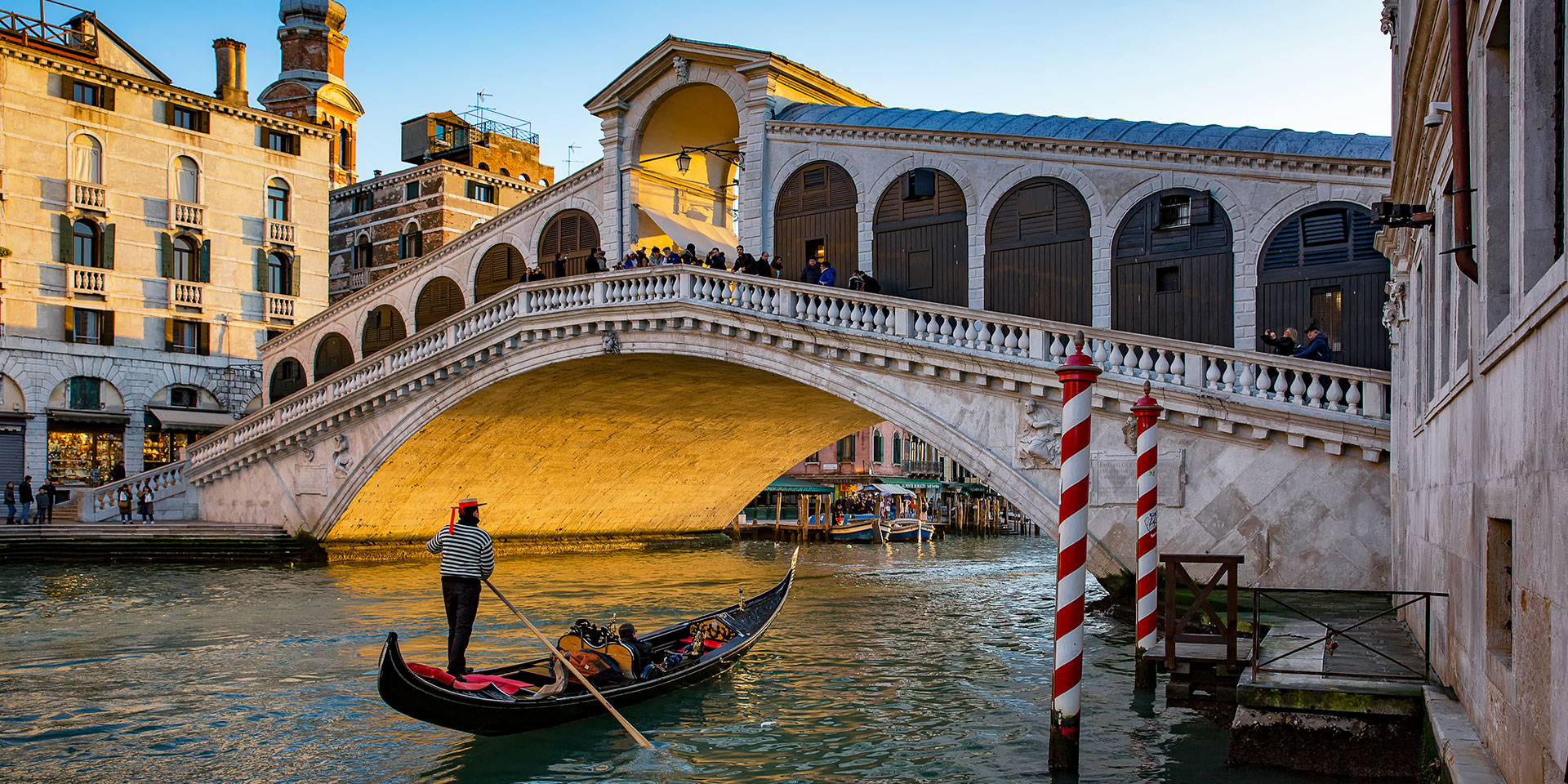 The Rialto Bridge. (Photo: Getty Images)