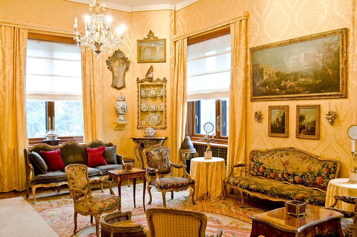Villa Necchi Campiglio Breakfast Room