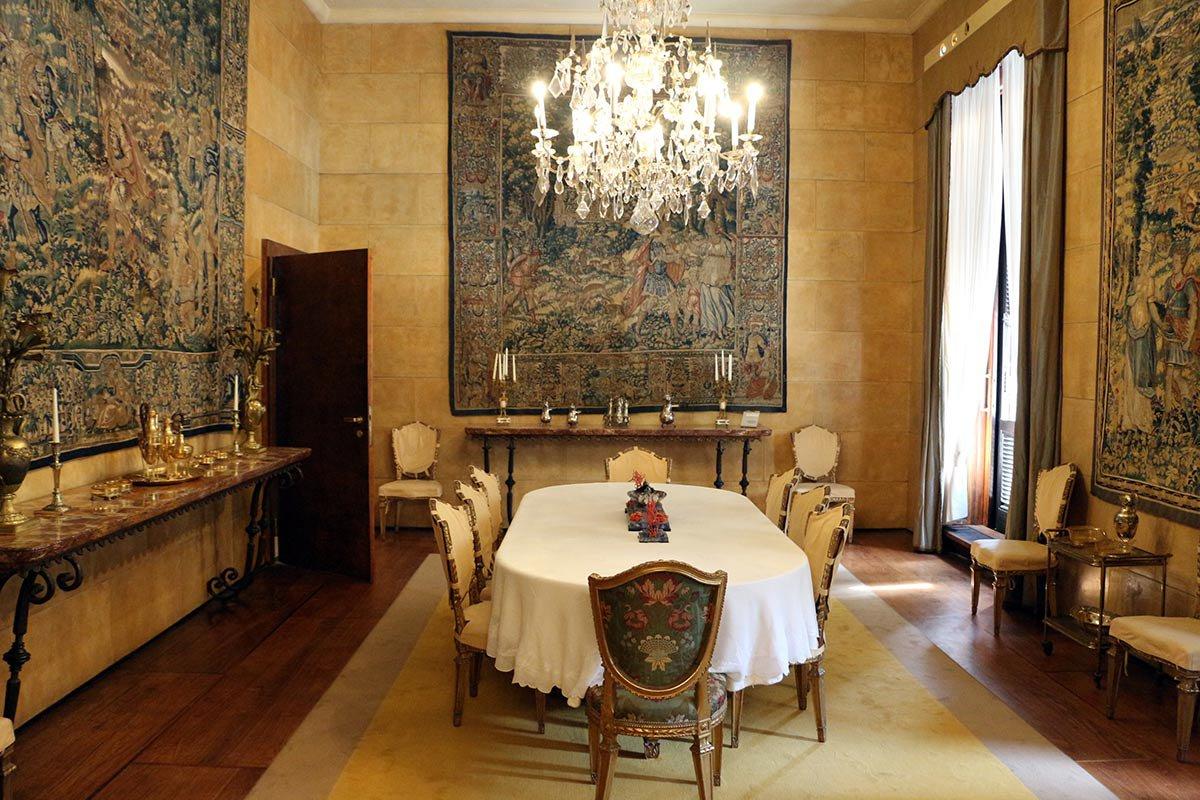 Villa Necchi Campiglio Dining Room